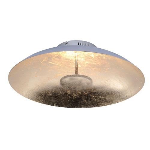 Plate large led ceiling light the lighting superstore plate large led gold colour ceiling light 8132 12 aloadofball Gallery