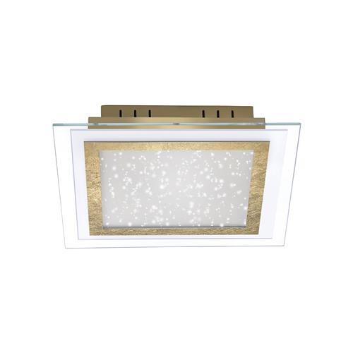 Foil led ceiling light the lighting superstore foil led gold colour ceiling light 8370 12 aloadofball Gallery