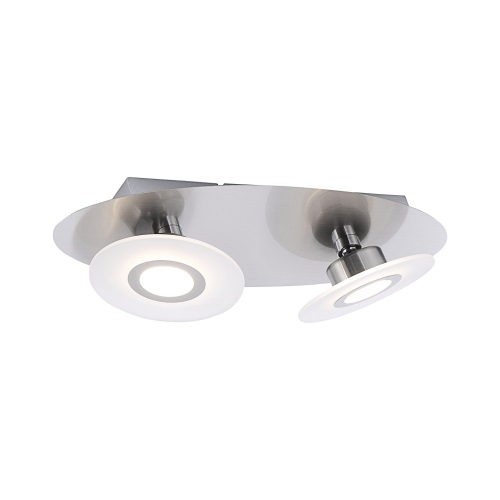 Magna LED Steel Double Ceiling Light 8562-55