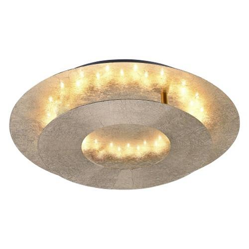 Nevis rotatable led ceiling led the lighting superstore nevis gold coloured led ceiling light 9011 12 aloadofball Image collections