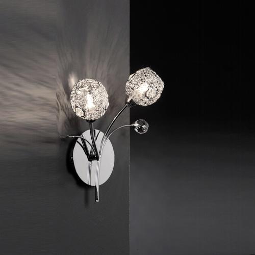 Portia Double Wall Light 9084-17