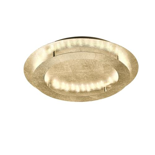 Nevis 500mm Gold Finish Circular LED Ceiling Light 9621-12