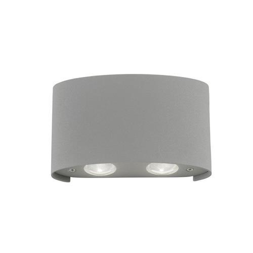 Carlo LED Silver Wall Four Light 9487-21