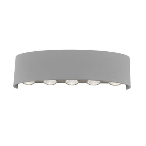 Carlo Silver Finished 10 Light LED Wall Fitting 9489-21