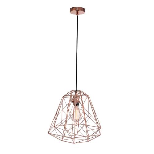 15090-20 Skeletton Wire Cage Ceiling Pendant