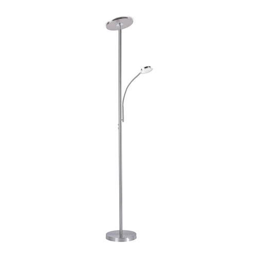 Hans led adjustable floor lamp 11709 55 the lighting for Remote control floor lamp price