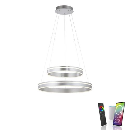 Vita LED Stainless Steel Ceiling Pendant 8420-55