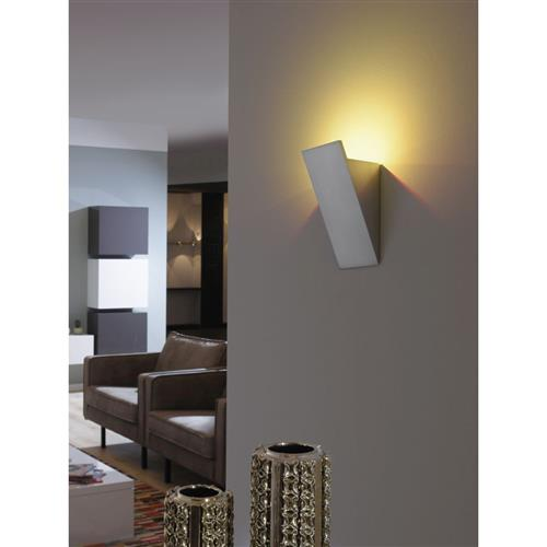 Pila Grey dimmable LED Wall Light RGB PN0805