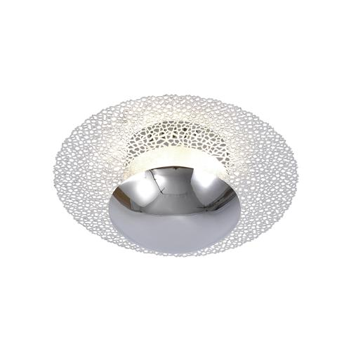 Small Nevis Chrome LED Ceiling Light 6542-17