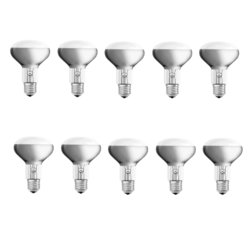R80 E27 70=100w Lamp - Pack of 10