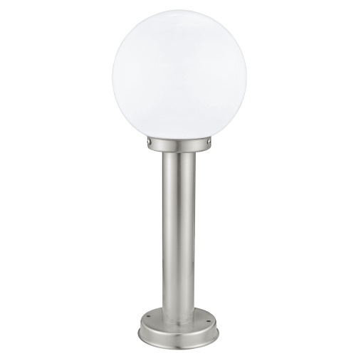 Nisia Globe Stainless Steel Outdoor 500mm Post Light 30206