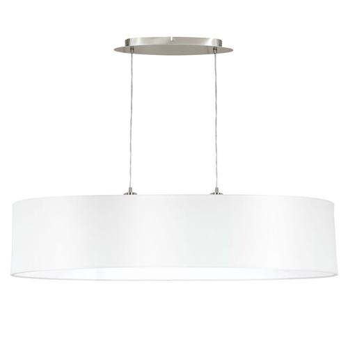 31615 Maserlo Large White Oval Ceiling Pendant