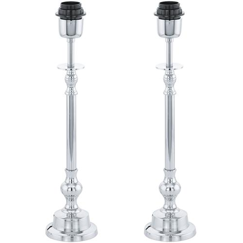 49189 Bedworth Pack of Two Traditional Table lamps