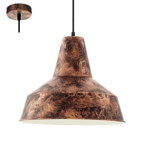 49388 Somerton Antique Copper Pendant Light
