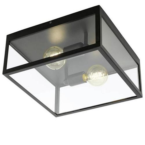 49392 Charterhouse Flush Square Ceiling Light
