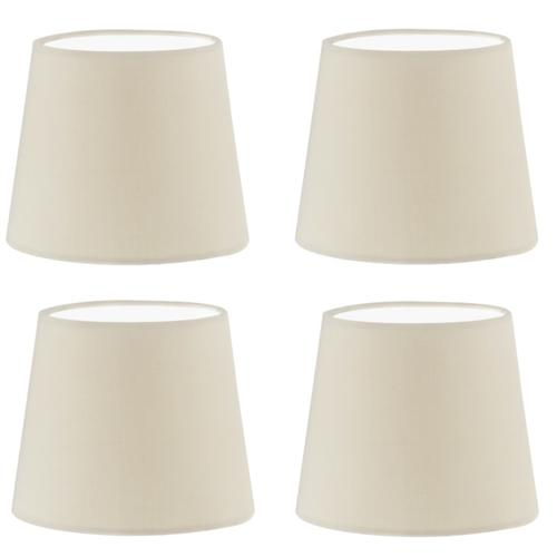49402 Pack Of 4 Small Drum lampshades