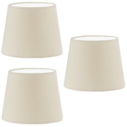 49409 Pack Of 3 Traditional Drum Lampshades