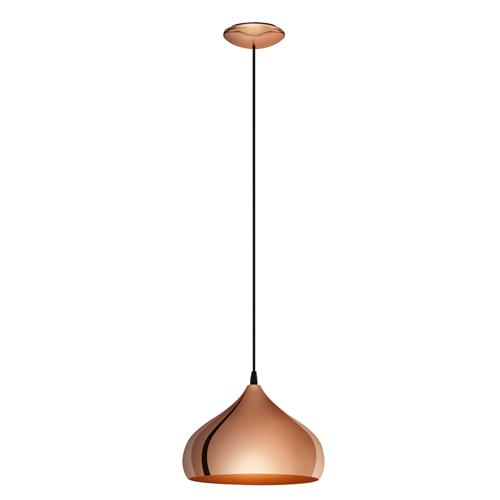 Hapton Contemporary Styled Single Pendant Light 49449