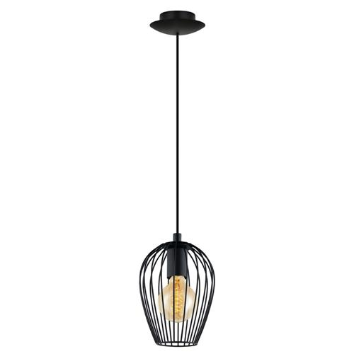 Newton Small Wire Single Ceiling Pendant 49477
