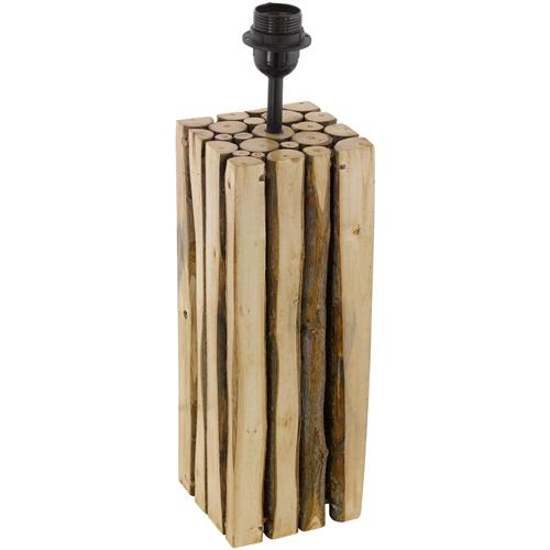 Ribadeo Tall Wooden Table Lamp 49831