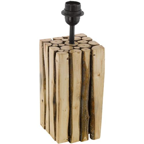 49832 Ribadeo Wooden Table Lamp