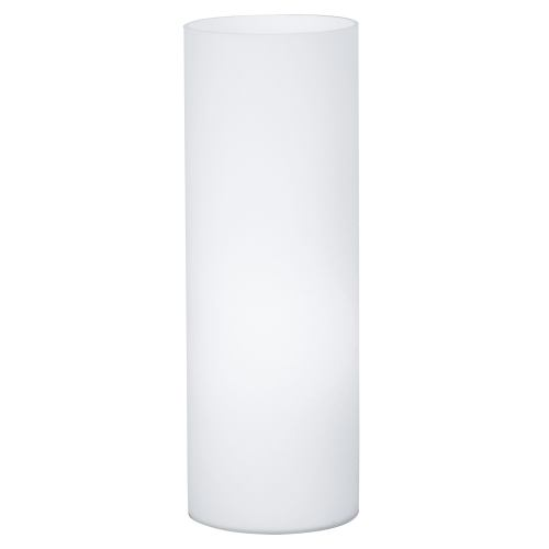 Geo Opal Glass Cylinder Table Lamp 81828