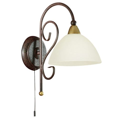 Medici Antique Brown Wall Light 85448