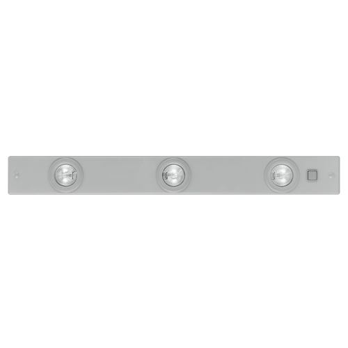Extend Undershelf Light - Low voltage, under shelf kitchen light, finished in silver. Complete with on/off rocker switch.