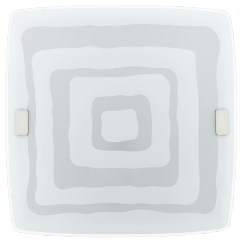 Patterned Glass Wall Lights : 86851 Borgo 1 Wall Light Patterned Glass The Lighting Superstore