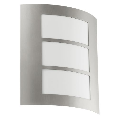 88139 City Outdoor Wall Light Steel