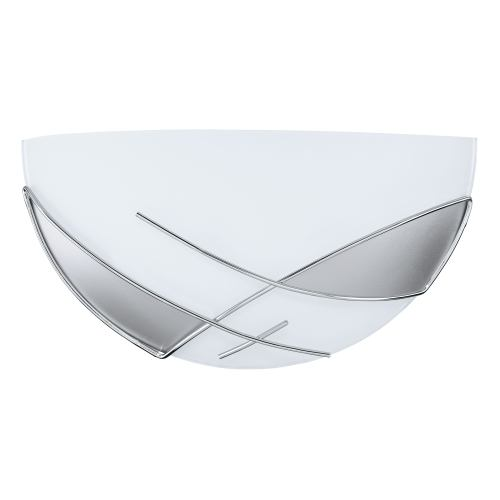 89759 Raya Wall Light Frosted Glass