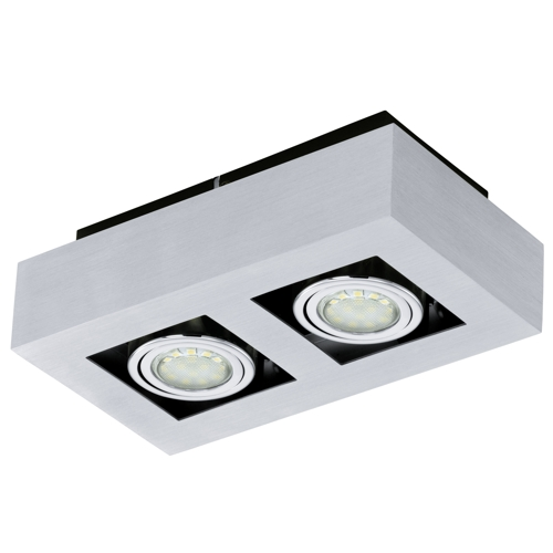 Loke 1 led ceiling spotlight 91353 the lighting superstore loke 1 led ceiling spotlight 91353 mozeypictures Choice Image