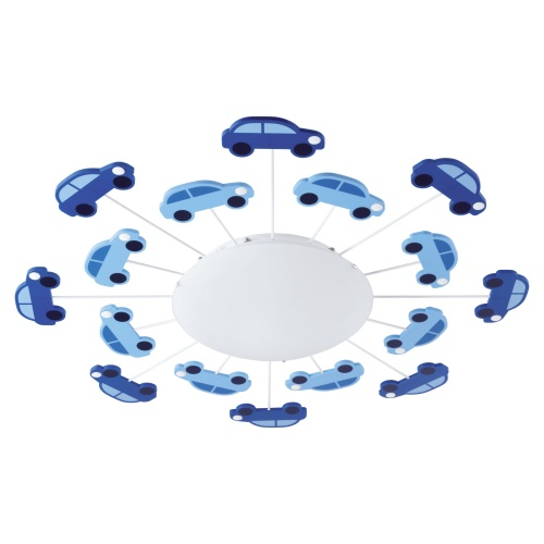 Childrens Novelty Light Fittings : Viki 1 Childrens Car Light 92146 The Lighting Superstore