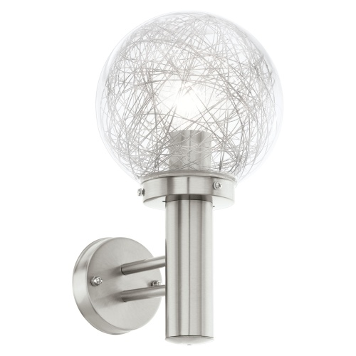 Nisia Outdoor Globe Wall Light 93366