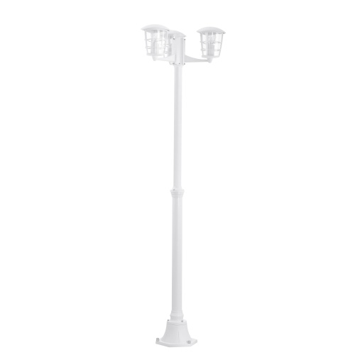 Aloria White Outdoor Post Light 93405