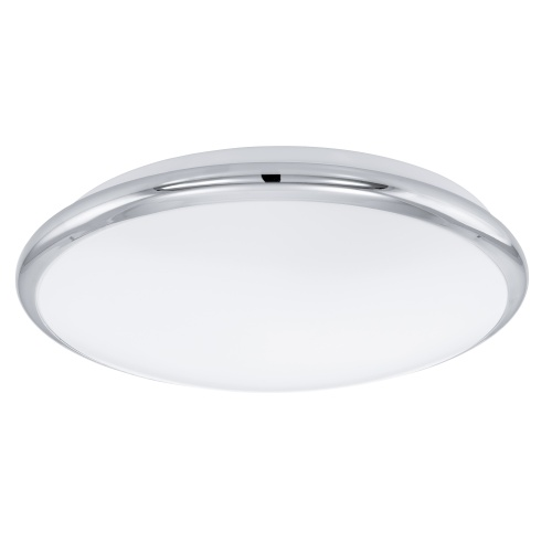 Manilva Chrome Round LED Ceiling Light 93496