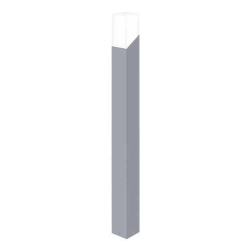 Roffia LED Outdoor Silver Post Light 94088