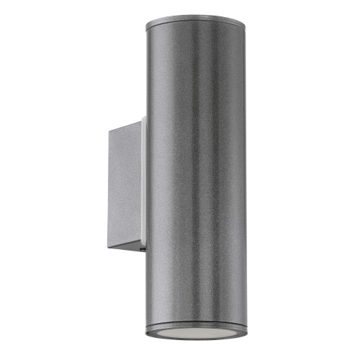 Riga LED Outdoor Anthracite Up and Down Wall Light 94103