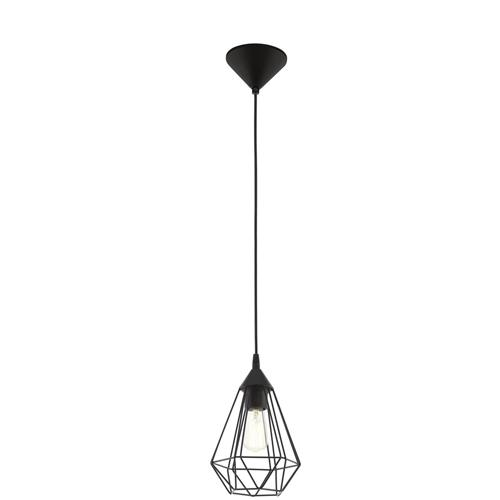 Tarbes Black Slim Single Wire Pendant 94187