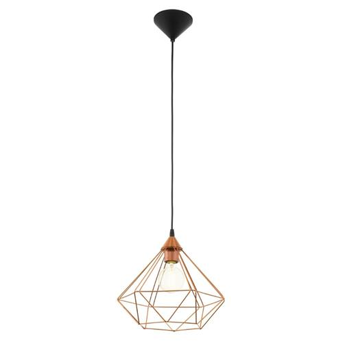 Tarbes Large Copper Wire Pendant Light 94194