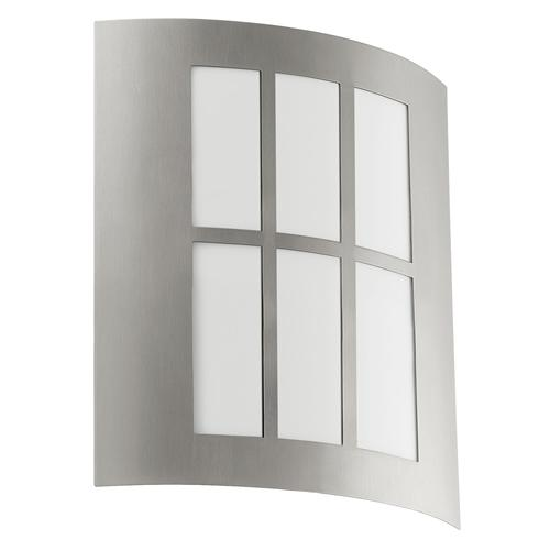 City LED Outdoor Stainless Steel Wall Light 94212