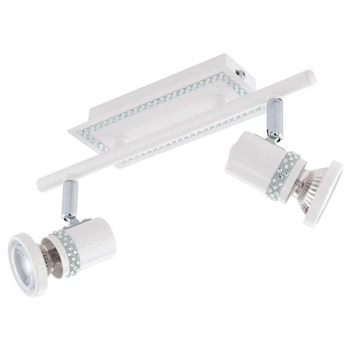 94283 Bonares White LED Double spotlight