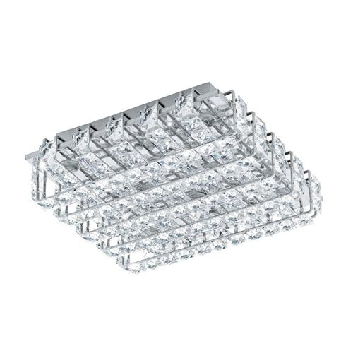 Lonzaso Small LED Crystal Ceiling Light 94313