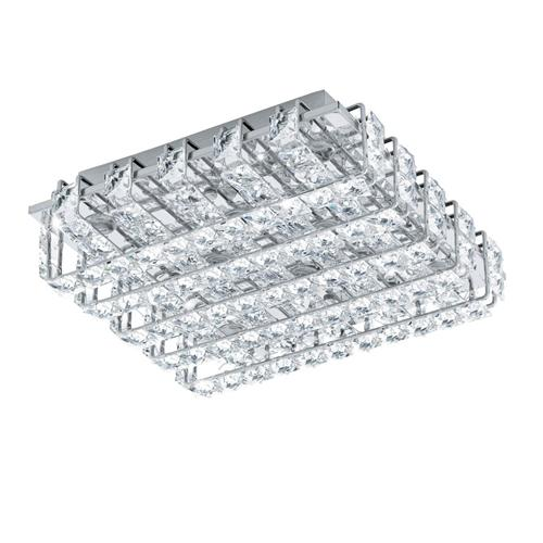 94313 Lonzaso Small LED Crystal Ceiling Light