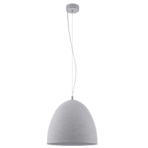 Sarabia Single 405mm Grey Pendant Light 94354
