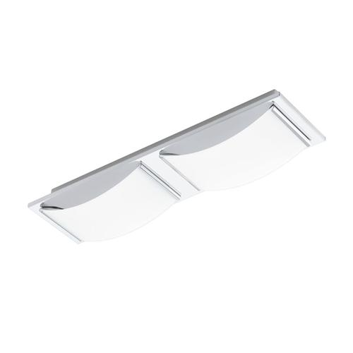 94466 Wasao LED Chrome Wall/Ceiling Double Light