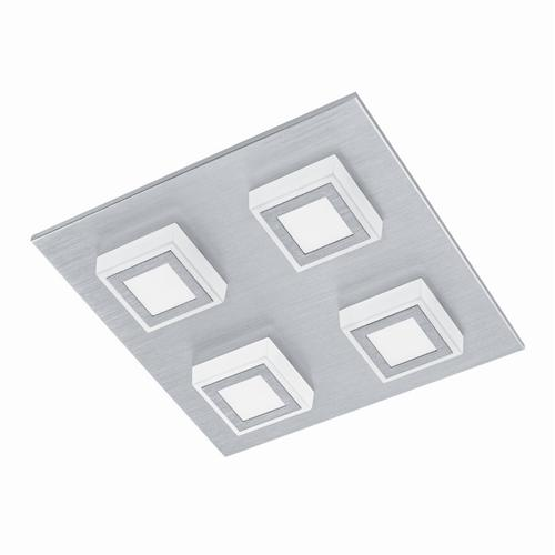 Masiano Aluminium Ceiling 4 Light 94508