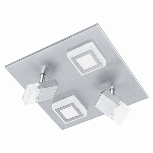 Masiano 2 Adjustable 2 Fixed Square Ceiling Light 94512