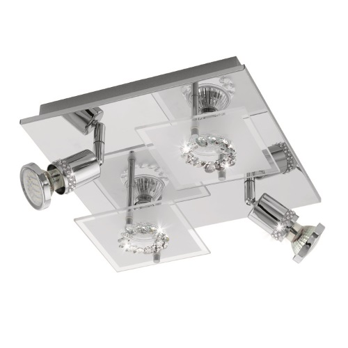 Balerna LED Chrome Ceiling Light 94529