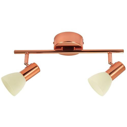 94737 Glossy Double LED Ceiling Mounted Spotlight